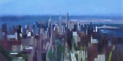 Nova York, pintures de Carme Aymar