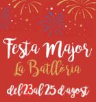 Festa Major la Batllòria 2019