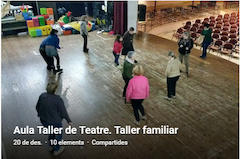 20161221 Àlbum fotos Aula taller ET Taller familiar