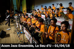 20180401 Acem Jazz Ensemble a La Seu