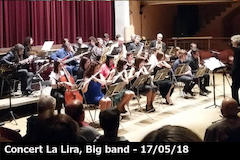 20180524 Àlbum concert La Lira, Big band