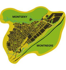 Esquema Montseny Montnegre