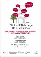 Ajuntament de sant celoni sessions informatives sobre for Oficina de habitatge