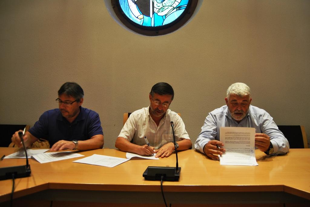 Ajuntament de sant celoni signatura de la pr rroga del for Oficina de habitatge